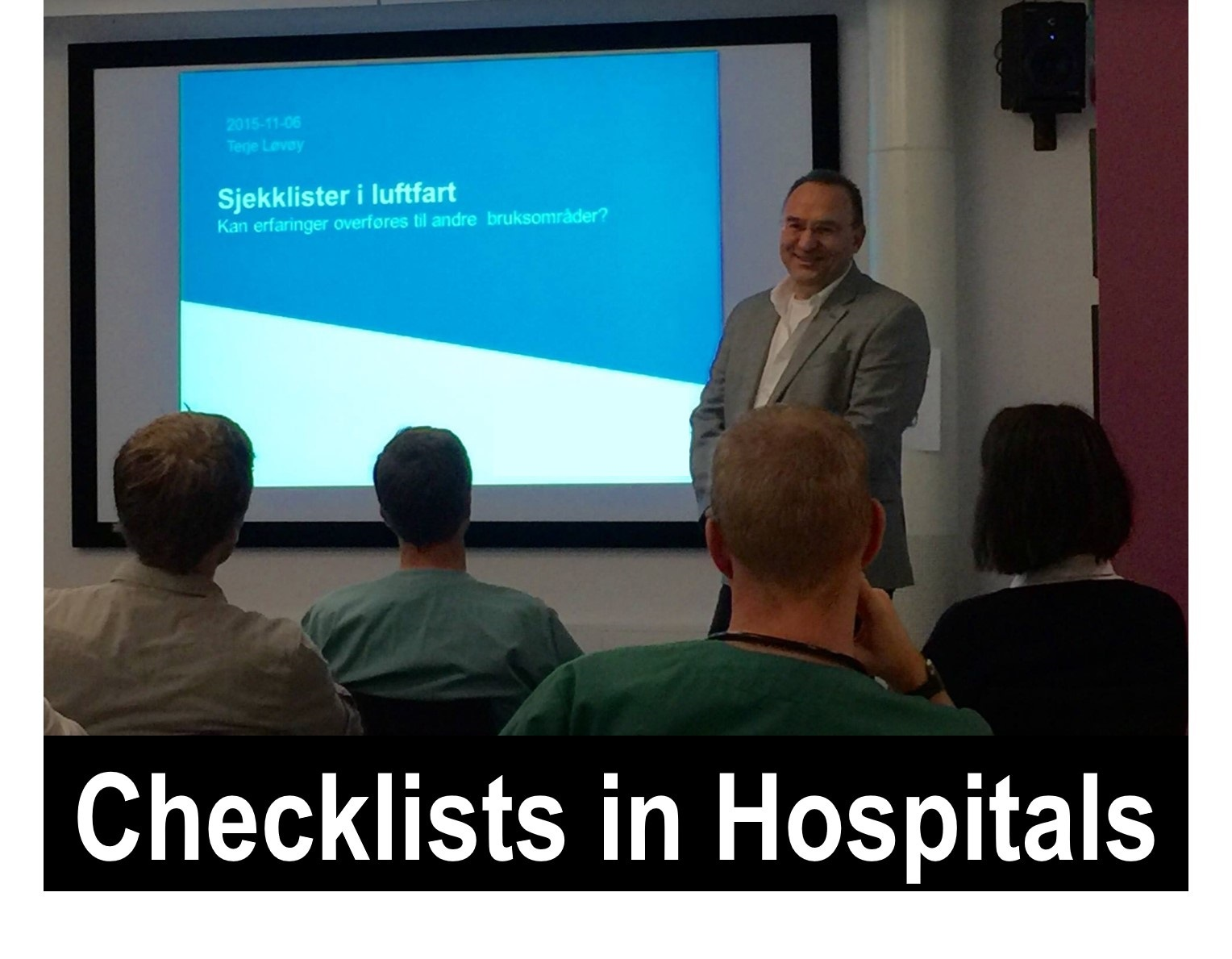 Checklists in Hospitals
